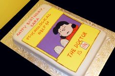 """Cake – Retro Lucy fondant """"The Doctor Is In"""" cake http://www.sevenlittlemonkeys.com"""