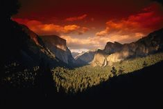 From the National Geographic Collection landscape photo of El Capitan and Bridal veil Fall at the end of the day. Scenic view of a sunset at Yosemite National Park Wall Art apart of the National Geographic collection, by Nick Norman from Great BIG Canvas. Landscape Photos, Landscape Art, National Geographic, Yosemite National Park, National Parks, Scenic Photography, Photography Tips, Nature Photography, Photography Equipment