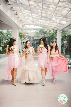 Weddings, bride with bridesmaid photo by M M Photography and Videography