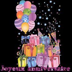 Des tas de cadeaux et ballons pour votre Anniversaire