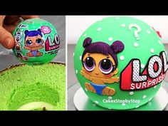 LOL Surprise Cake - How To Make by Cakes StepbyStep - YouTube