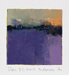 dec312013 by Hiroshi Matsumoto, via Flickr Abstract Landscape Painting, Abstract Oil, Landscape Art, Abstract Expressionism, Landscape Paintings, Abstract Paintings, Oil Paintings, Land Scape, Cool Art