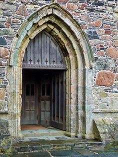 Iona Door, Isle of Iona