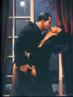 """2004 was an exceptional year in Vettriano's career; his best known painting, The Singing Butler was sold at Sotheby's for close to £750,000; he was awarded an OBE for Services to the Visual Arts and was the subject of a South Bank Show documentary, entitled """"Jack Vettriano: The People's Painter""""."""