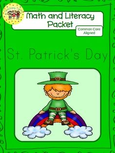 116 pages of St. Patrick's' Day Goodies b/w & color Worksheets with Answer Keys, Emergent Reader, Count and Clip Cards.