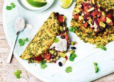 Recipe: Cauliflower tortillas with black bean salsa | Sainsbury's