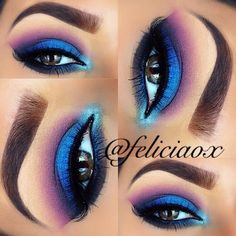Blue  Purple with a touch of Teal