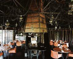 La Grenouillerie Restaurant, France. Architects Patrick Bouchain and Loïc Julienne. Photographer Cyrille Weiner.