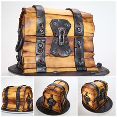 I thought this was a toy at first! Fondant Cakes, Cupcake Cakes, Cupcakes, My Birthday Cake, Man Birthday, Reeces Cake, Bus Cake, Roblox Cake, Video Game Cakes