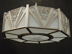 Sirmos Lighting   Deco Inspired Pendant   Made in LA   Custom Made by iWorks