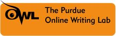 Welcome to the Purdue OWL. We offer over 200 free resources including: Writing and Teaching Writing Research Grammar and Mechanics Style Guides ESL (English as a Second Language) Job Search and Professional Writing