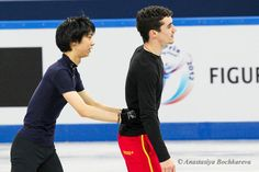 Javier Fernandez(Spain) and Yuzuru Hanyu(JAPAN) : ISU Grand Prix of Figure Skating Final 2012