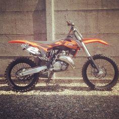 Duedipicche...  #ktm #accorgitene #ktm125sx #sx #mx #motocross