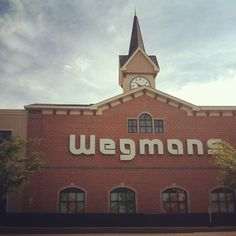 OK so Wegman's is much more of a grocery store than a restaurant, but you can sit and eat their food there! And we do! Lunch or dinner with every shopping trip. ;-) For true believers, Wegmans is basically the equivalent of church. | 25 Reasons Wegmans Is The Greatest Supermarket The World Will Ever Know
