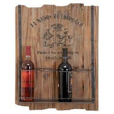 Awesome Rustic Wine Bottle Holder #wine #bottle #holder