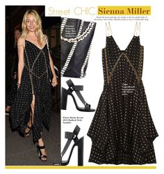 """""""Sienna Miller"""" by swweetalexutza ❤ liked on Polyvore featuring Pierre Hardy, Proenza Schouler and Chloé"""