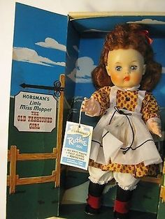 VINTAGE HORSMAN LITTLE MISS MOPPET RUTHIE DOLL OLD FASHIONED GIRL ORIGINAL BOX | #507731858