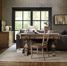 Hooker Furniture Sorella 60 inch Writing Desk 5107-10458