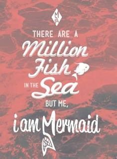 be a #mermaid in a sea of fish