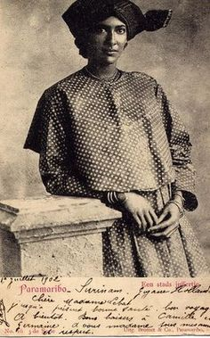 Suriname woman