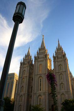 Temple Square - Salt Lake City, Utah Temple Square, Ap World History, History Teachers, Salt Lake City, Wonderful Places, Barcelona Cathedral, Wander, Places Ive Been, Utah