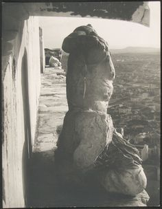 Walter Hege – Acropolis (Parthenon, West Pediment: Cecrops Sculpture Group), 1928-30