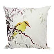 ptak aksamit kraj pokrycie dekoracyjne podusz... – EUR € 12.37