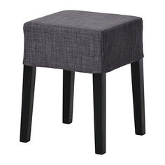NILS Stool IKEA The padded seat means you sit comfortably. The cover is removable and can be machine washed. At Home Furniture Store, Modern Home Furniture, Dining Room Furniture, Dining Chairs, Banco Ikea, Ikea Stool, Bench Stool, Big Sofa Leder, Chairs