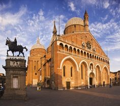 Padova, #Padua - Italy - the Basilica of Sant'Antonio - built 1232-1301 #Gothic with Renaissance additions Veneto