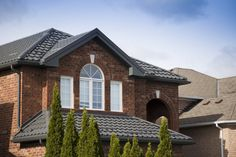 Roofing season is in full swing - time to install your new metal roof! Porch Roof, Shed Roof, House Roof, Colour Architecture, Roof Architecture, Green Metal Roofing, Tin Roofing, Roofing Shingles, Affordable Roofing