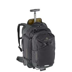 Image for Gear Warrior™ Convertible Carry On from EagleCreek United States Carry On Luggage, Travel Luggage, Travel Backpack, Backpack Bags, Travel Bags, We Carry On, Backpack With Wheels, Festival Gear, Tactical Backpack