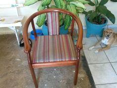 Cadeira antes...