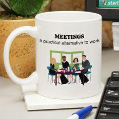 #Meetings: a practical alternative to work
