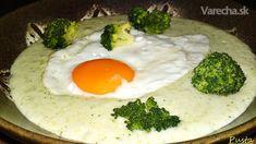 Veľkonočná brokolicová omáčka s volským okom (fotorecept)