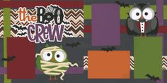 The Boo Crew Page Kit