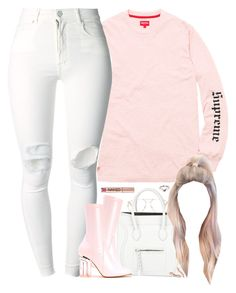 """Pink Friday"" by oh-aurora ❤ liked on Polyvore featuring Chloé, Dr. Martens, CÉLINE, (+) PEOPLE, Urban Decay, Marco Moore and LE VIAN"