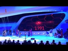Artistic performances for a car launch in Paris - YouTube