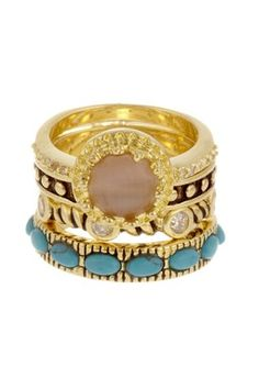 Stackable bracelets can complete any outfit!