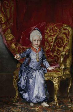 Anton Rafael Mengs. El archiduque Francisco de Austria, 1770