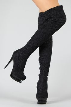 Dolly Stiletto Thigh High Boot