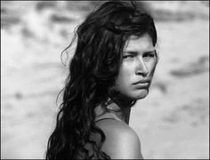 Karina Lombard by Armin Graessl Karina Lombard, Beautiful One, Photography Women, Armin, Tahiti, Dark Skin, Style Inspiration, Tattoo Inspiration, Famous People