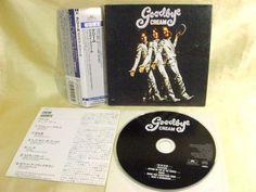 CD/Japan- CREAM Goodbye Cream w/OBI mini-LP RARE GATEFOLD COVER - ERIC CLAPTON #HardRockPsychedelicRock