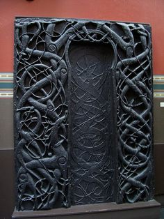 11th Cent Norwegian Door: man's fascination with doors and passages to unknown places has lasted forever