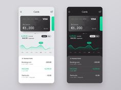 Banking App designed by Milos. Mobile Design, App Design, Opening A Bank Account, Best Bank, Bank Card, Balance, Saint Charles, San Luis Obispo, Show And Tell