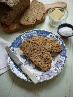 Slices No Knead Bread