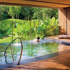 Fabulous Indoor Outdoor Pool/Spa Area