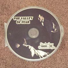 SHERLOCK HOLMS The Valley of Fear Sir Arthur Conan Doyle MP3 (CD, Audio Books)