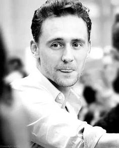 Tom Hiddleston is cute as a kitten