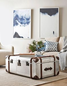"**Trunks:** Simple and elegant, the trunk offers convenient storage, a display opportunity and a dash of vintage flair.  Timothy Oulton Globetrekker aluminium-plated coffee table (113x73x43cm), $5655 from [Coco Republic](http://www.cocorepublic.com.au/?utm_campaign=supplier/|target=""_blank"").: [object Object]"
