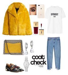 """""""Unbenannt #148"""" by bedriyee on Polyvore featuring Mode, Diane Von Furstenberg, Gucci, Monki, Givenchy, Kate Spade, Rolex und statementcoats"""